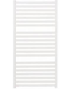 Ben Leros radiator met middenaansluiting 60x120 cm wit