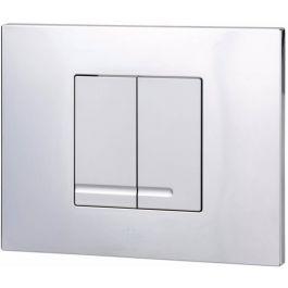 Ben Pro Flush Style Drukplaat Chroom / Mat-Chroom