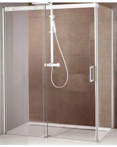 Ben Novalle Soft 2.0 Schuifdeur Rechts 120x200 cm chroom / helder glas