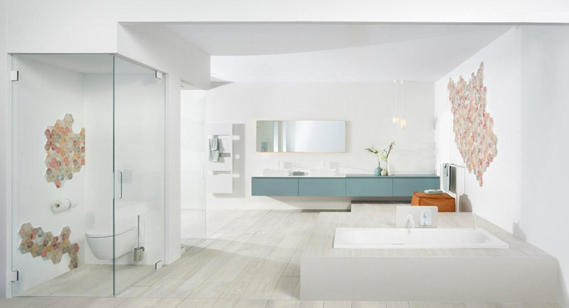 Beste Scandinavische badkamer HG-37